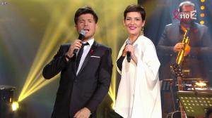 Cristina Cordula dans la Télé Chante pour le Sidaction - 28/03/15 - 04