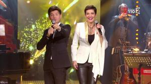 Cristina Cordula dans la télé Chante pour le Sidaction - 28/03/15 - 06