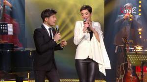 Cristina Cordula dans la télé Chante pour le Sidaction - 28/03/15 - 07