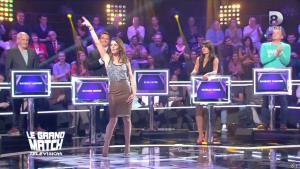 Elsa Fayer dans le Grand Match de la télévision - 30/04/15 - 01