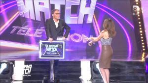 Elsa Fayer dans le Grand Match de la Télévision - 30/04/15 - 02