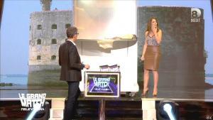 Elsa Fayer dans le Grand Match de la télévision - 30/04/15 - 05