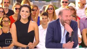 Eva Longoria dans le Grand Journal de Canal Plus - 18/05/15 - 05