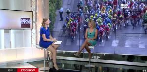 France Pierron et Marion Rousse dans Menu Sport - 01/07/15 - 02