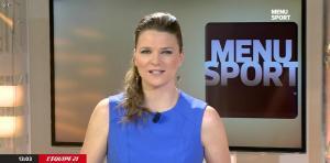 France Pierron dans Menu Sport - 03/03/15 - 02