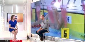 France Pierron dans Menu Sport - 06/04/15 - 03