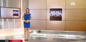 France Pierron dans Menu Sport - 09/03/15 - 01