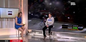 France Pierron dans Menu Sport - 09/03/15 - 02