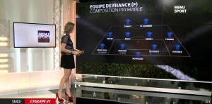 France Pierron dans Menu Sport - 09/06/15 - 02