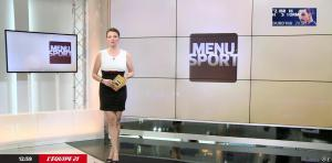 France Pierron dans Menu Sport - 11/05/15 - 01