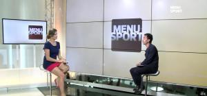 France Pierron dans Menu Sport - 19/05/15 - 03