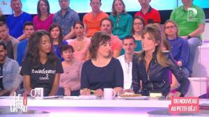 Hapsatou Sy et Caroline Ithurbide dans le Grand 8 - 07/04/15 - 07