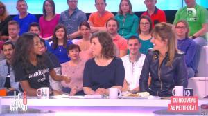 Hapsatou Sy et Caroline Ithurbide dans le Grand 8 - 07/04/15 - 10