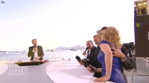 Karin Viard dans le Grand Journal de Canal Plus - 16/05/15 - 06