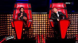 Karine Ferri dans The Voice - 21/03/15 - 04