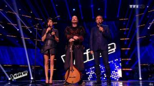 Karine Ferri dans The Voice - 21/03/15 - 05