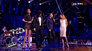 Karine Ferri dans The Voice - 28/03/15 - 02