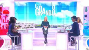 Laurence Ferrari, Hapsatou Sy, Audrey Pulvar et Elisabeth Bost dans le Grand 8 - 05/02/15 - 02