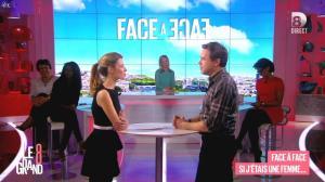 Laurence Ferrari, Hapsatou Sy, Audrey Pulvar et Elisabeth Bost dans le Grand 8 - 27/01/15 - 05