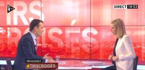 Laurence Ferrari dans Tirs Croisés - 01/04/15 - 02
