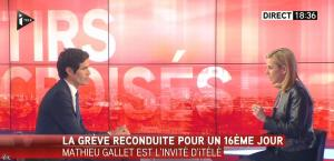 Laurence Ferrari dans Tirs Croisés - 02/04/15 - 01