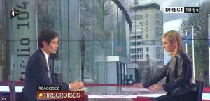 Laurence Ferrari dans Tirs Croisés - 02/04/15 - 05