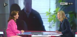 Laurence Ferrari dans Tirs Croises - 13/04/15 - 01