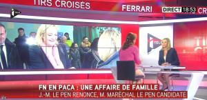 Laurence Ferrari dans Tirs Croisés - 13/04/15 - 03