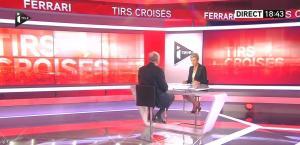 Laurence Ferrari dans Tirs Croises - 14/04/15 - 02