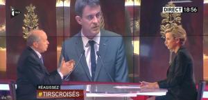 Laurence Ferrari dans Tirs Croisés - 14/04/15 - 03