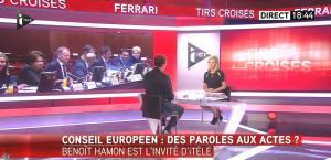Laurence Ferrari dans Tirs Croisés - 23/04/15 - 02