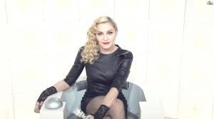 Madonna dans le Grand Journal de Canal Plus - 03/03/15 - 01