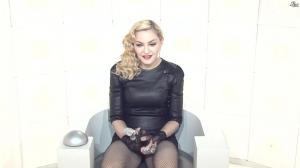 Madonna dans le Grand Journal de Canal Plus - 03/03/15 - 02