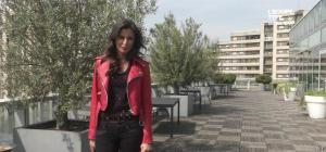 Malika Ménard dans L Equipe Type - 12/04/15 - 02