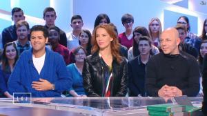 Mélissa Theuriau dans le Grand Journal de Canal Plus - 06/04/15 - 06