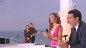 Miranda Kerr dans le Grand Journal de Canal Plus - 14/05/15 - 07