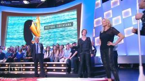 Natacha Polony et Estelle Lefébure dans le Grand Journal de Canal Plus - 09/04/15 - 04