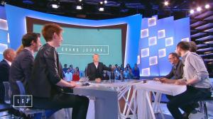 Natacha Polony dans le Grand Journal de Canal Plus - 10/04/15 - 02