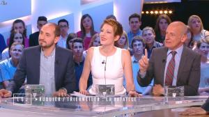 Natacha Polony dans le Grand Journal de Canal Plus - 15/04/15 - 02