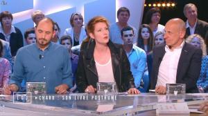 Natacha Polony dans le Grand Journal de Canal Plus - 17/04/15 - 02