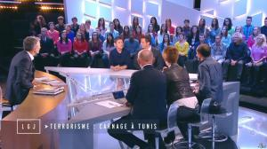 Natacha Polony dans le Grand Journal de Canal Plus - 18/03/15 - 02