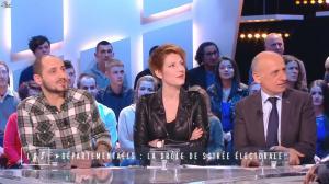 Natacha Polony dans le Grand Journal de Canal Plus - 23/03/15 - 02