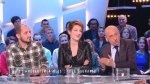 Natacha Polony dans le Grand Journal de Canal Plus - 23/03/15 - 03
