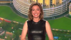 Sandrine Quétier lors du Tirage du Loto - 23/05/15 - 02