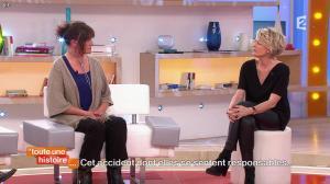 Sophie Davant dans Toute une Histoire - 16/04/15 - 05