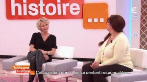Sophie Davant dans Toute une Histoire - 16/04/15 - 06