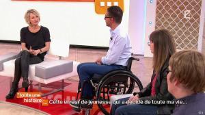 Sophie Davant dans Toute une Histoire - 19/03/15 - 11
