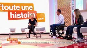 Sophie Davant dans Toute une Histoire - 19/03/15 - 18