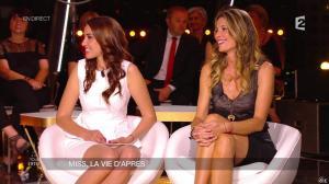 Sophie Thalmann et Delphine Wespiser dans Un Soir à la Tour Eiffel - 15/04/15 - 05
