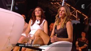 Sophie Thalmann et Delphine Wespiser dans un Soir à la Tour Eiffel - 15/04/15 - 07